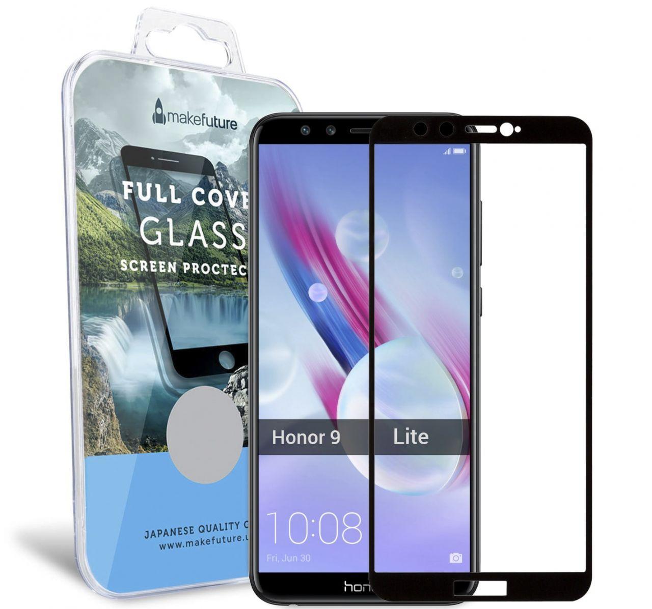 Защитное стекло MakeFuture Full Cover Huawei Honor 9 Lite Black (MGFC-H9LB)