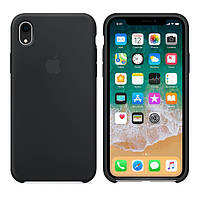 Чехол Apple Silicone Case iPhone XR Black (High Copy)