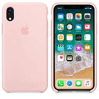Чехол Apple Silicone Case iPhone XR Pink (High Copy)