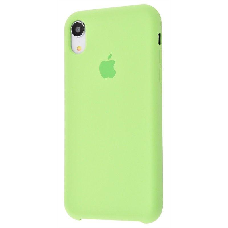 Чехол Apple Silicone Case iPhone XR Mint (High Copy)