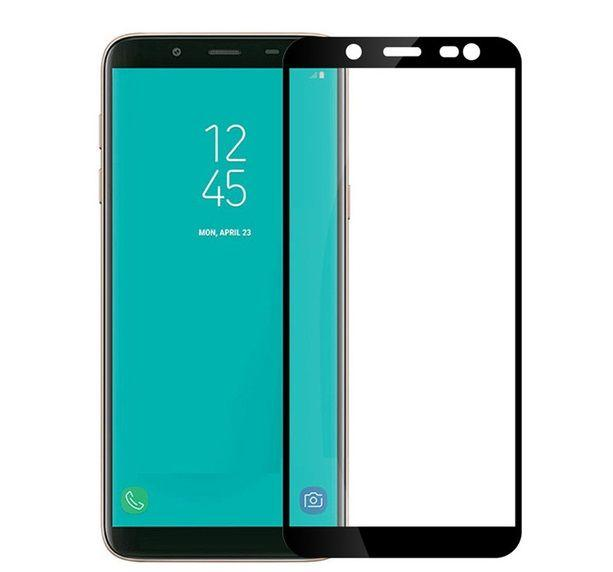 Защитное стекло PowerPlant Full Screen Samsung A600 Galaxy A6 2018 Black (GL605316)