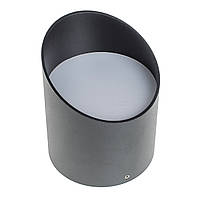 Подсветка тубус накладная LED AL-529/6W WW BK, фото 1