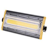 Прожектор LED поворотный HL-44/50W COB CW, фото 1