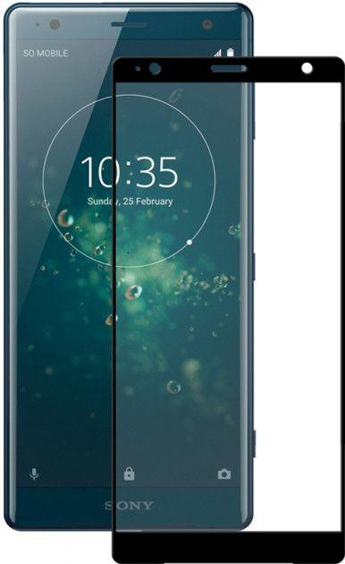 Защитное стекло PowerPlant Full Screen Sony Xperia XZ2 Black (GL605453)