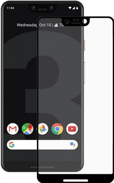 Защитное стекло PowerPlant Full Screen Google Pixel 3 XL Black (GL604814)