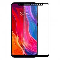 Защитное стекло PowerPlant Full Screen Xiaomi Mi 8 Black (GL605507)