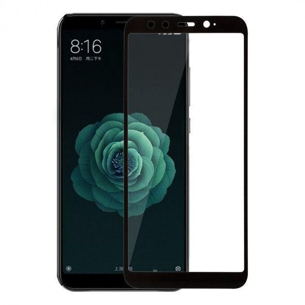 Защитное стекло PowerPlant Full Screen Xiaomi Mi A2, Mi 6X Black (GL605521)