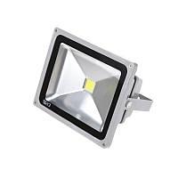 Прожектор уличный LED влагозащищенный IP65 HL-07/30W CW COB серый, фото 1