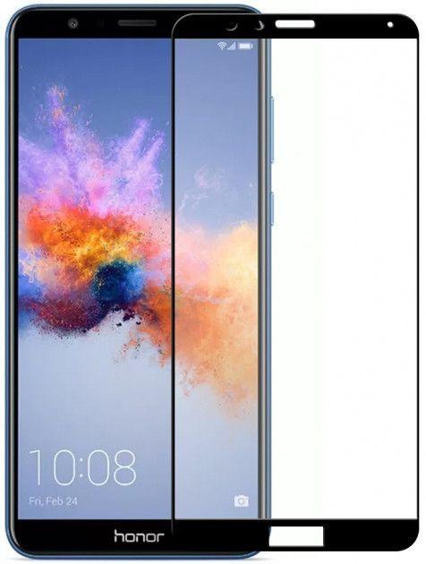 Защитное стекло PowerPlant Full Screen Huawei Honor 7X Black (GL605057)
