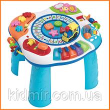 Детский развивающий музыкальный столик WinFun с паровозиком