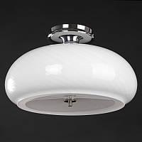 Светильник настенно-потолочный BR-01 240C/3 E27 WH, фото 1