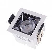 Светильник точечный LED HDL-DT 203/5W WW WH, фото 1