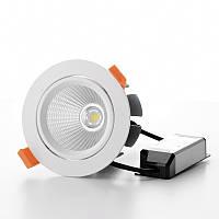 Светильник потолочный LED встроенный LED-38/15W COB CW DL, фото 1
