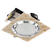 Светильник потолочный встроенный DL-30/2 E27 BR, фото 1