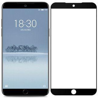 Защитное стекло PowerPlant Full Screen Meizu 15 Lite Black (GL605156)
