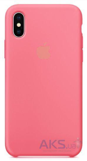 Чехол Apple Silicone Case iPhone XS Pink_High Copy