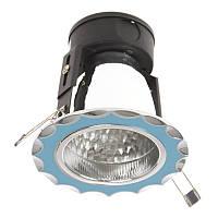 Светильник потолочный встроенный VDL-30/08 BLUE/CHR, фото 1