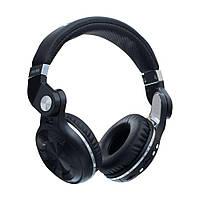 Беспроводные портативные комбинированые игровые наушники Bluetooth 4.1 USB/AUX Bluedio T2+ Черные