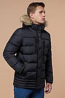 """Куртка мужская зимняя Braggart """"Dress Code"""" графитовая, до -25 °C, коллекция 2021 года"""