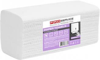 PRO service Comfort Полотенце бумажное V-скл. двухслойное 200 шт., белое