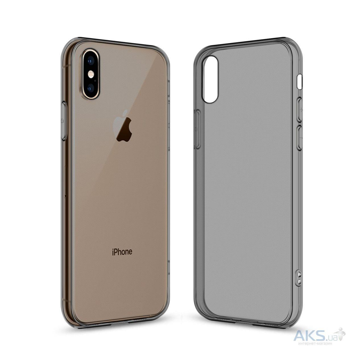 Чехол 1TOUCH TPU Apple iPhone XS Max Black