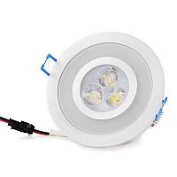 Светильник точечный LED-103A/3W+1,5W Green CW 38', фото 1