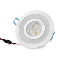 Светильник точечный LED-103A/3W+1,5W Green WW 38'