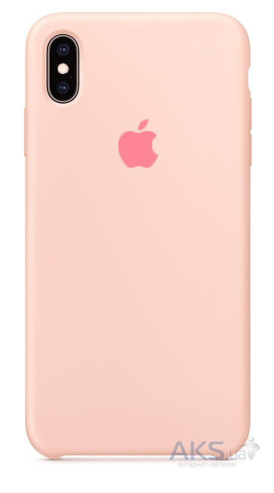 Чехол Apple Silicone Case iPhone XS Max Pink_High Copy