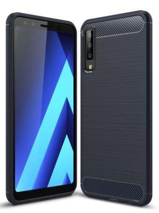 Чехол BeCover Carbon Series Samsung A750 Galaxy A7 2018 Black (703009)