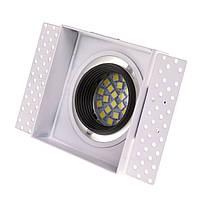 Светильник точечный HDL-DS 166 MR16 WH/BK, фото 1