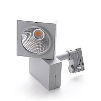 Светильник трековый поворотный LED светодиодный 402/34W WW COB SL, фото 1