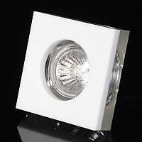 Светильник точечный декоративный HDL-G207 CL/WH MR16, фото 1