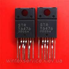Микросхема STR-Y6476 TO-220F  Демонтаж