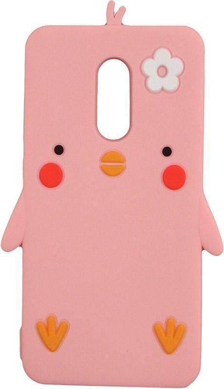 Чехол TOTO Silicon Сartoon Network Chicken Case Xiaomi Redmi 5 Pink (F_71591)