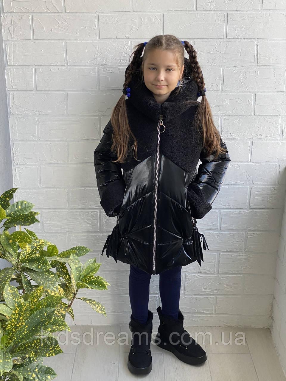 """Зимняя куртка на девочку """"Герда» 122-152р"""