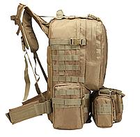Тактический Штурмовой Рюкзак с подсумками 50л, фото 4