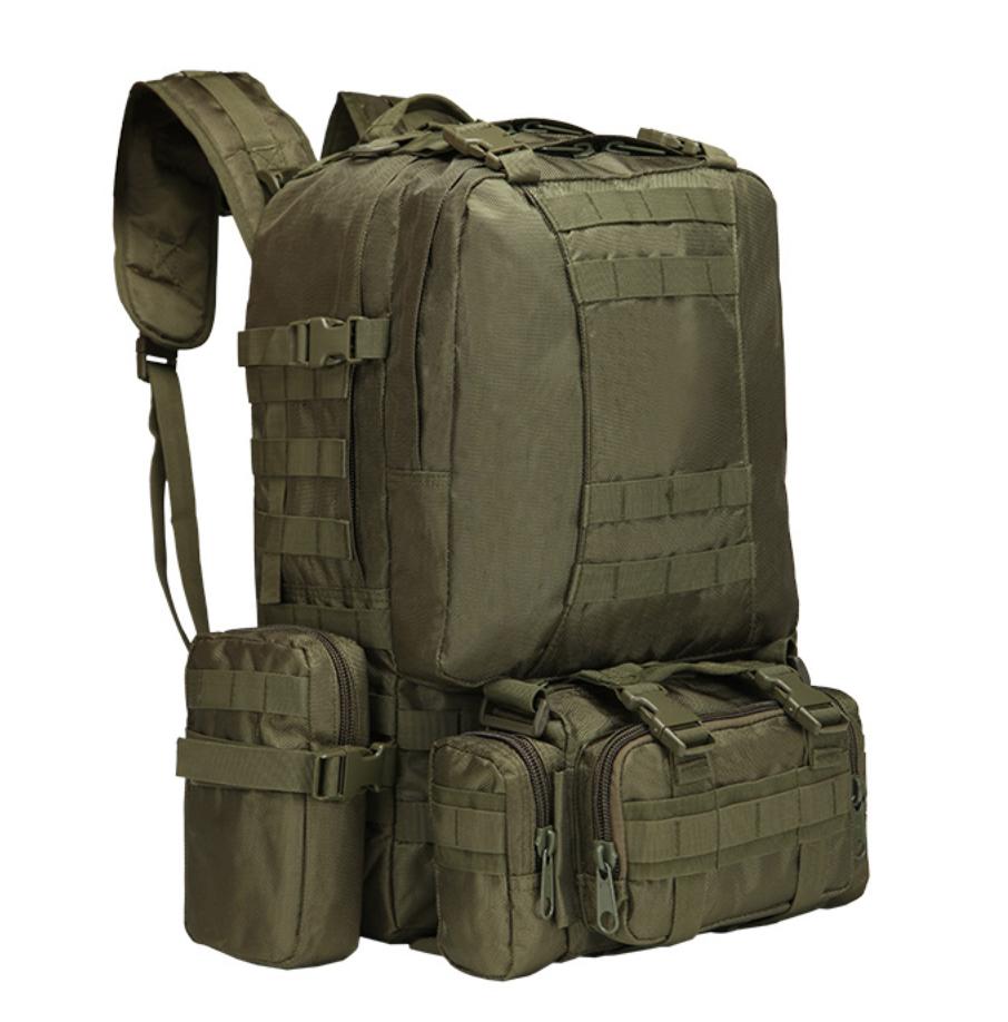 Тактический Штурмовой Рюкзак с подсумками 50л