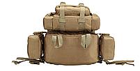 Тактический Штурмовой Рюкзак с подсумками 50л, фото 2