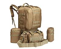 Тактический Штурмовой Рюкзак с подсумками 50л, фото 7