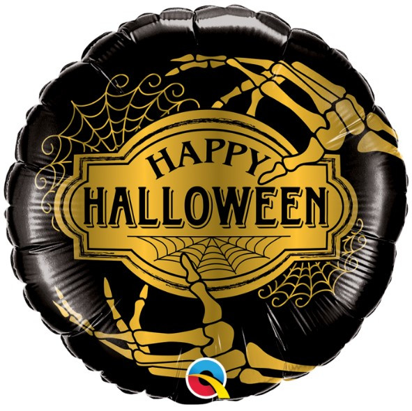 "Q 18"" Happy Halloween (Золотой Хелоуин)"