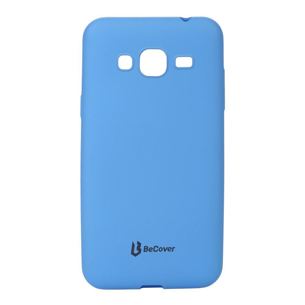 Чехол BeCover Case Samsung J320 Galaxy J3 2016 Blue (703243) + Glass