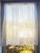 Занавеска на створку окна Полосочка 1шт 160смх70см