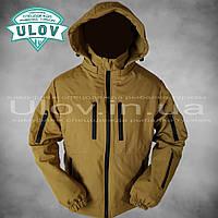 Куртка демисезонная штормовая Soft Shell (койот), фото 1