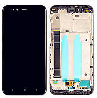 Дисплейный модуль Xiaomi Mi A1 with touch screen and frame black