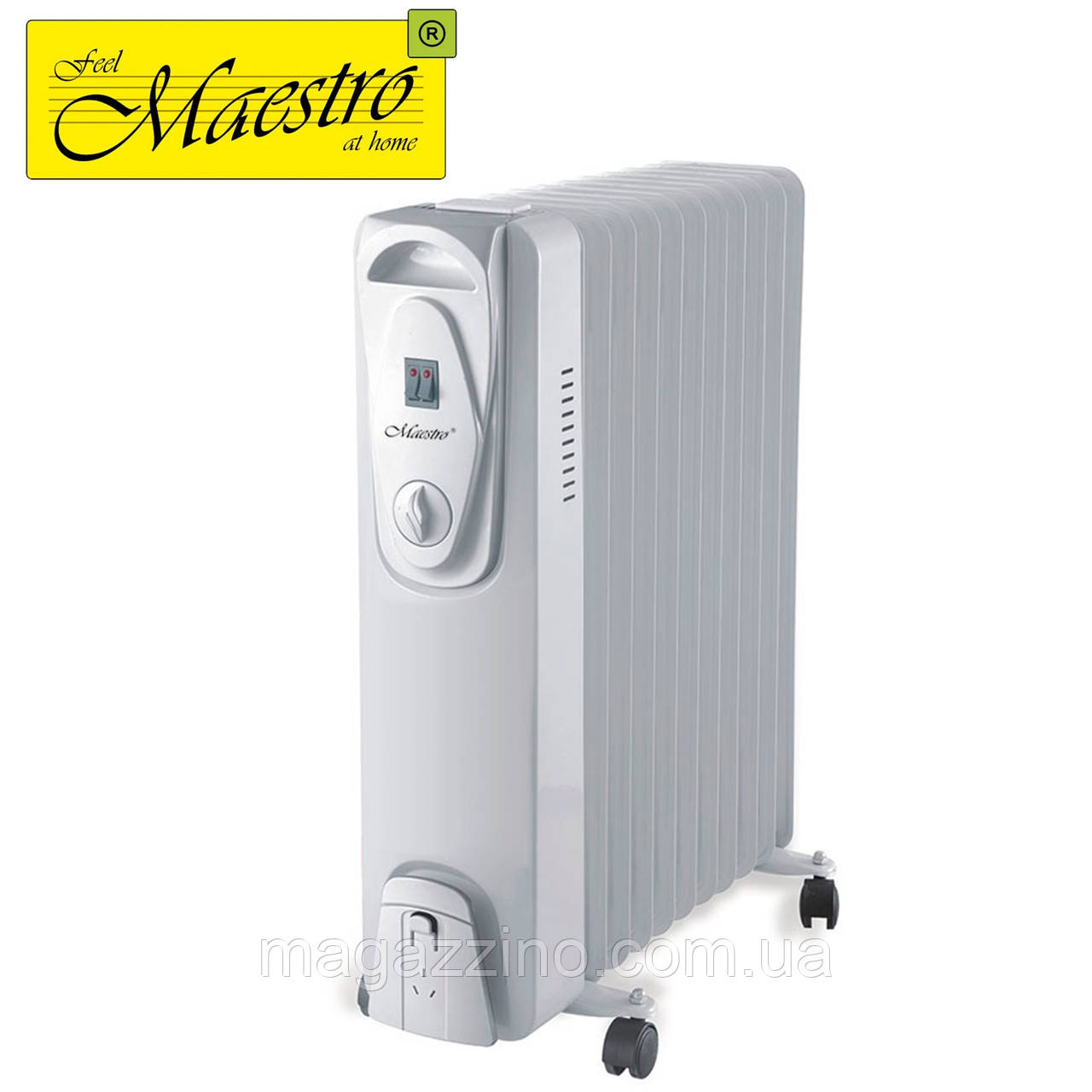 Масляний радіатор Maestro MR-951-11, 2500 Вт.