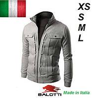 Куртка чоловіча молодіжна флісова, батник, реглан., фото 1