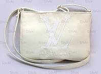 "СУМОЧКА ""МINI"" - №236 ""Louis Vuitton"" - белая"