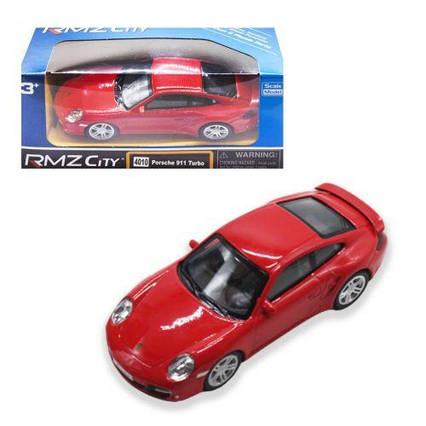 """Машинка """"Porsche 911"""" красный 444010"""