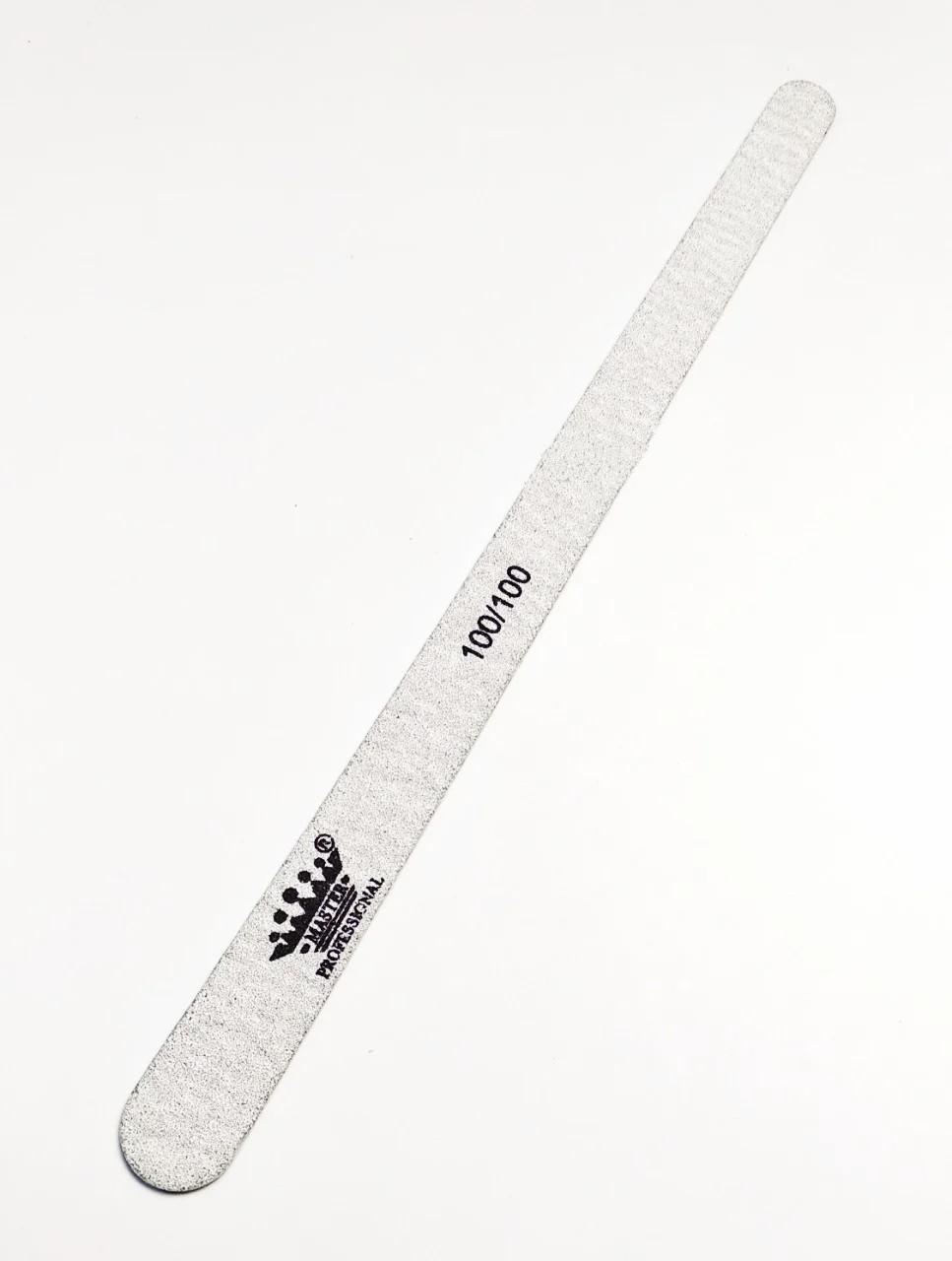 Пилочка для  ногтей овальная Master Professional, 100/100 грит,