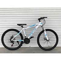 Спортивный горный ВЕЛОСИПЕД 26 дюймов TopRider белый. Крутой спортивный горный велосипед 26 дюймов ТОПРАЙДЕР